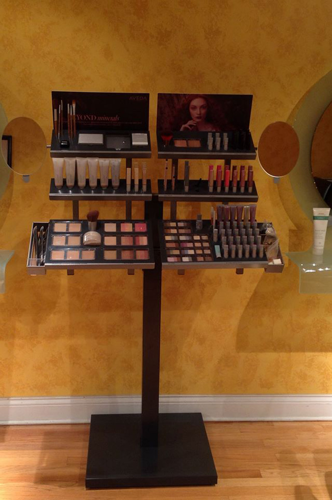 Aveda Makeup Station